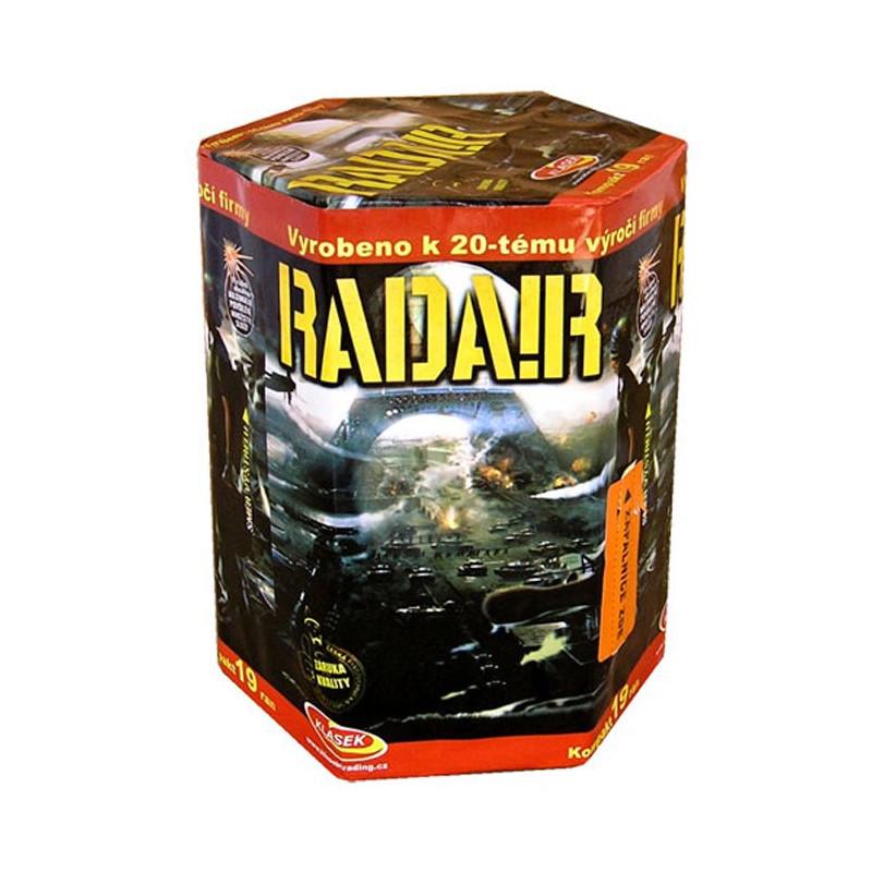 Kompaktní ohňostroj RADAR 19 ran 30mm