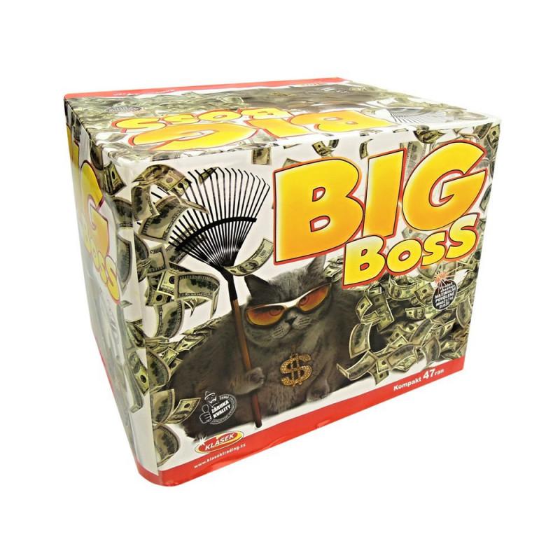 Kompaktní ohňostroj BIG BOSS 47 ran 30/50mm