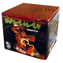 Kompaktní ohňostroj SHAMAN 49 ran 30mm