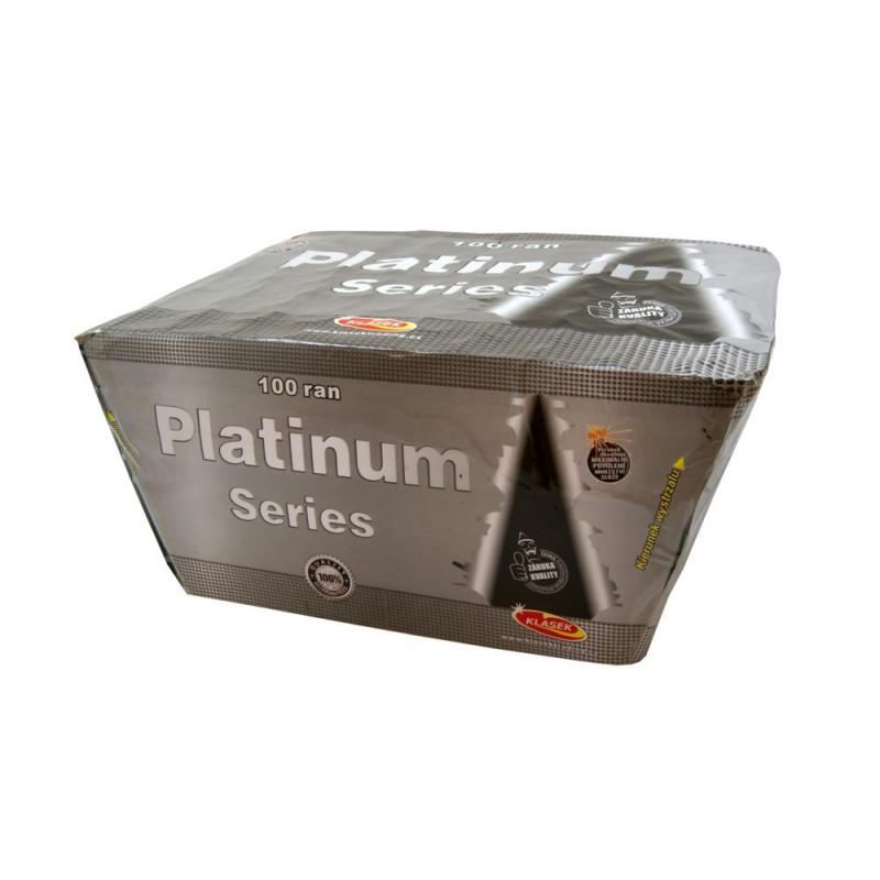 Kompaktní ohňostroj PLATINUM SERIES 100 ran 20mm