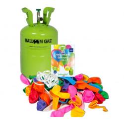 HELIUM 0,25 m3 + 30 balónků...