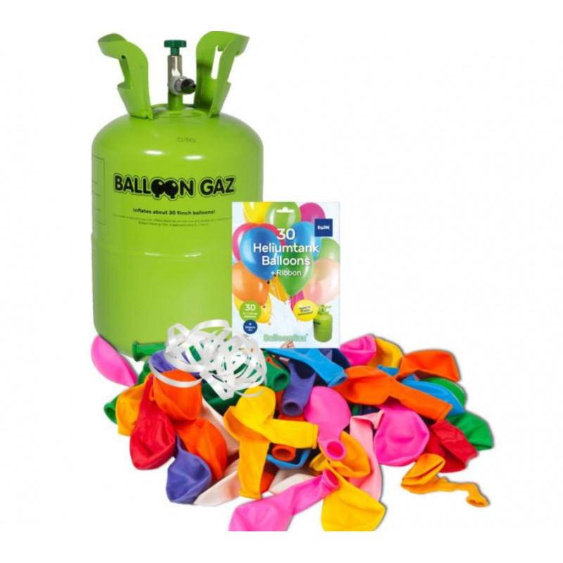 HELIUM 0,25 m3 + 30 balónků (OSOBNÍ ODBĚR)