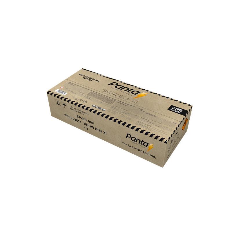 Sestavený ohňostroj SHOW BOX11 296 ran 20/25/30mm