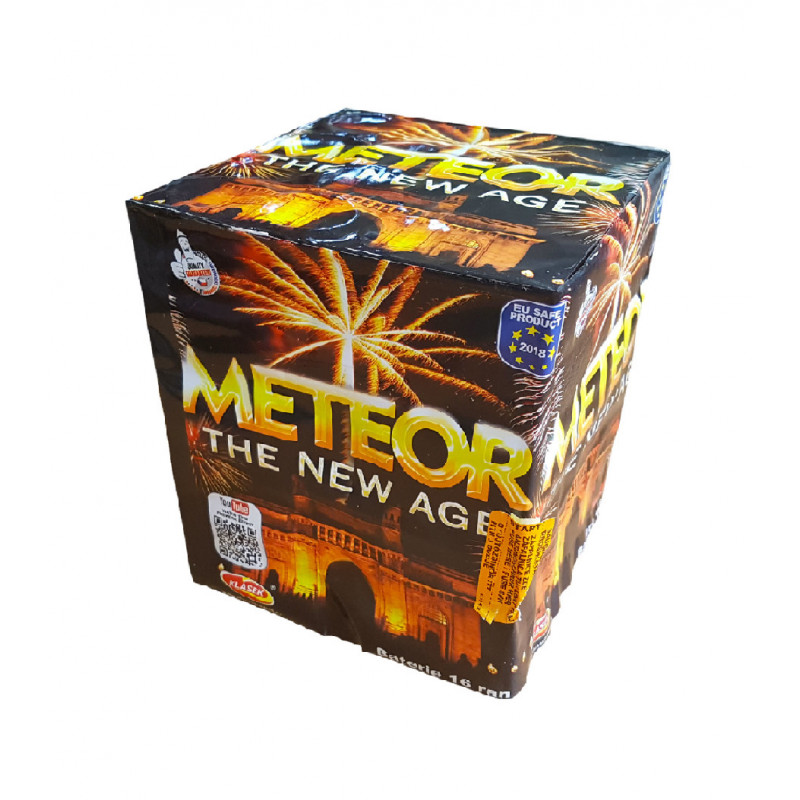 Kompaktní ohňostroj METEOR 16 ran 30mm