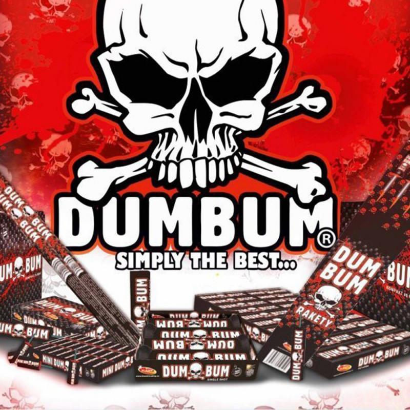 Balíček pyrotechniky pro fanoušky DUMBUM