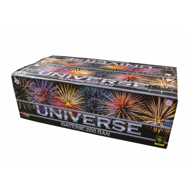 Sestavený ohňostroj UNIVERSE 200 ran 30mm