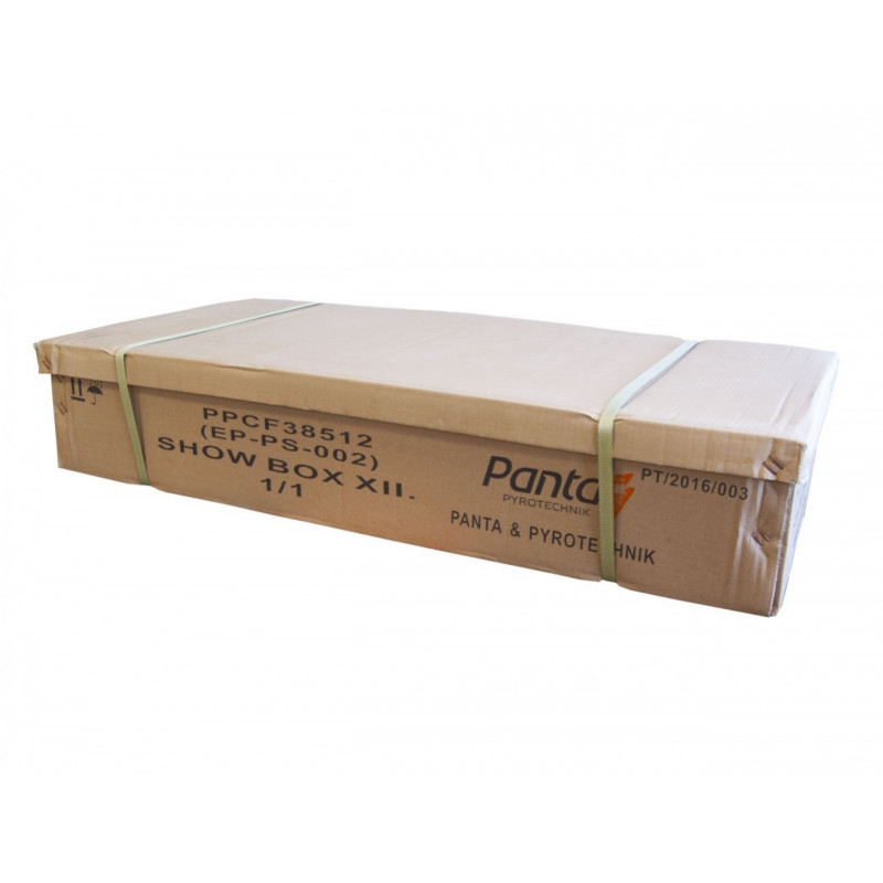 Sestavený ohňostroj SHOW BOX12 385 ran 20mm