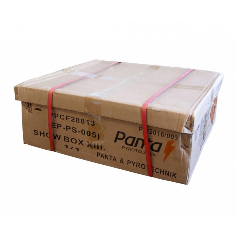Sestavený ohňostroj SHOW BOX13 288 ran 20mm
