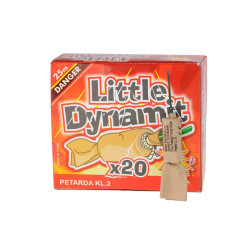 Petardy LITTLE DYNAMIT 20ks