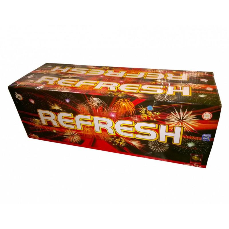 Sestavený ohňostroj REFRESH 75 ran 50mm